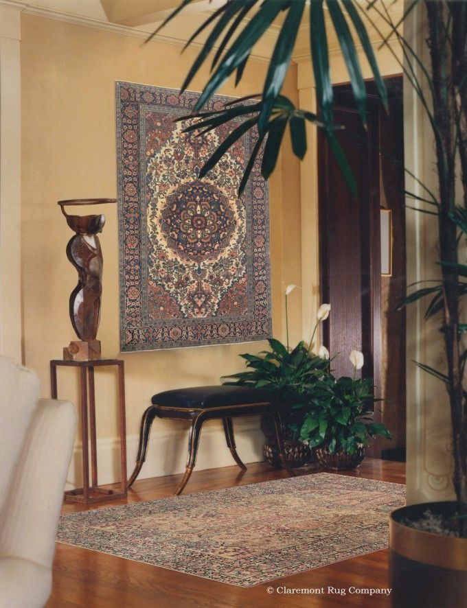 Find This Pin And More On Antique Rugs As Wall Art.