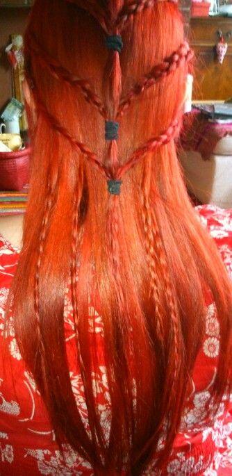 Attempted elven hair