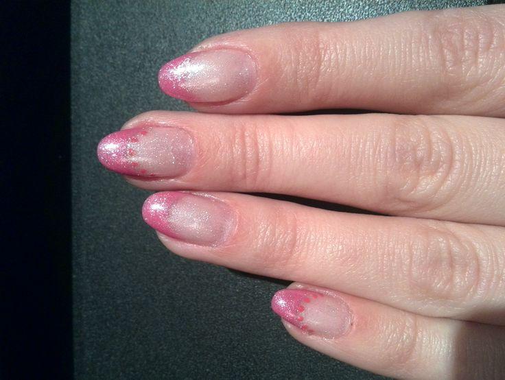 Pink nails #nails