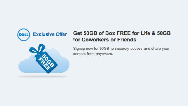 Grab 50GB of Box Online Storage Free for Life