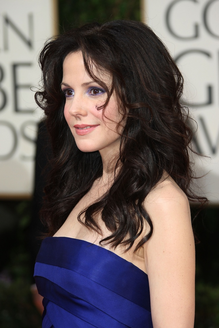 Mary-Louise Parker. A great example of a dark brown eyed Cool Winter