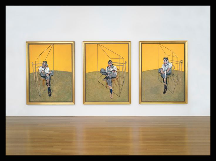 Francis Bacon (1909-1992) 'Three Studies of Lucian Freud""