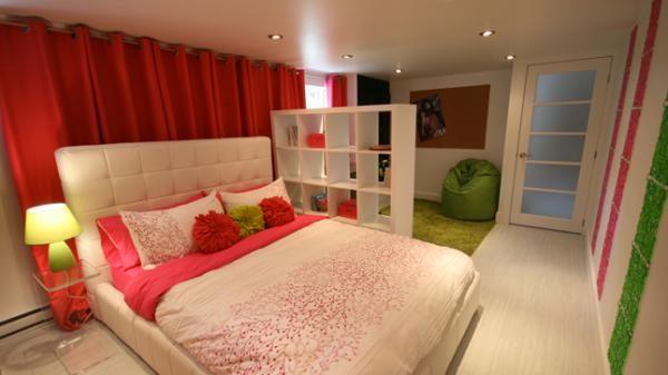 J'aime la porte semi-transparente / Une chambre pour pré-adolescente | Style France Arcand | CASA
