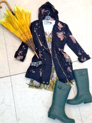 Three Steps To Perfect Rainy Day Style