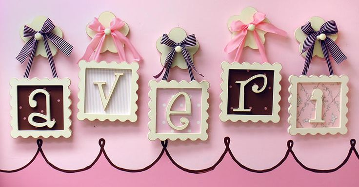 Chic and Cheap Lifestyle: DIY Framed Wooden Letters For Your Kids / Letras De Madera Encuadradas Para Tus Hijos