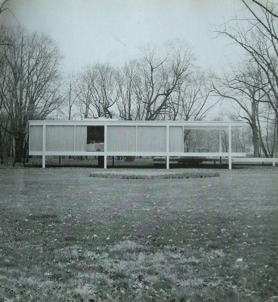 Clásicos de Arquitectura: Casa Farnsworth / Mies van der Rohe Clásicos de Arquitectura: Casa Farnsworth / Mies van der Rohe (2) – Plataforma Arquitectura