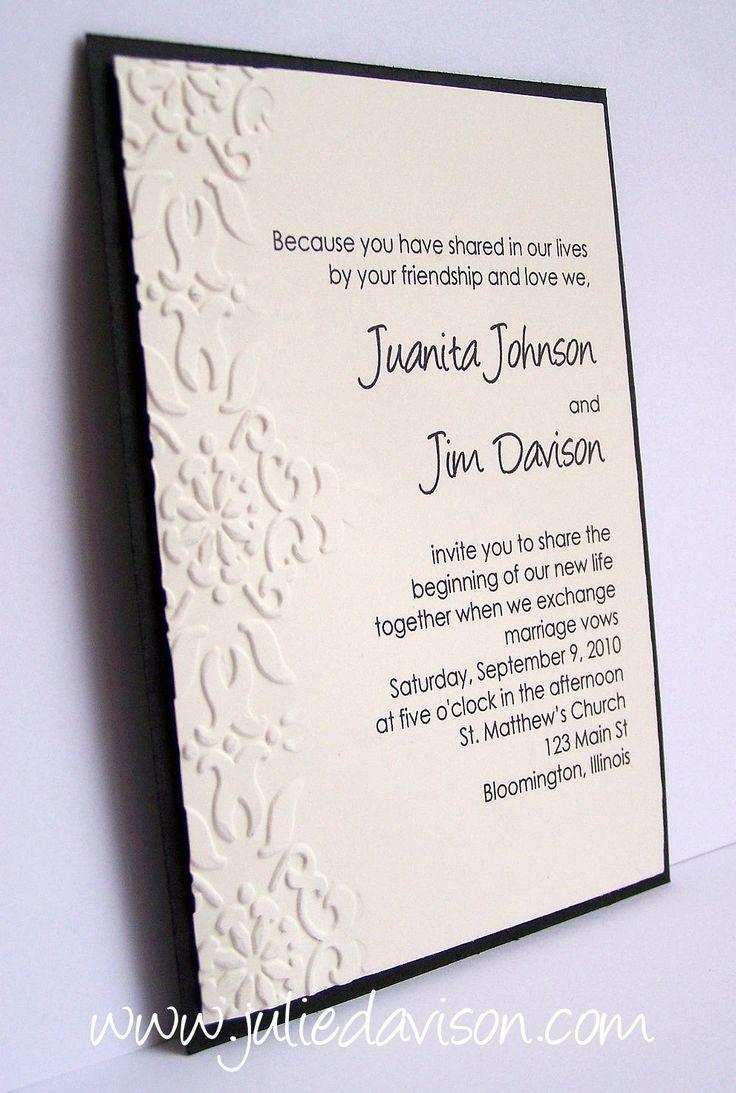 156 Best Wedding Invitations Images On Pinterest Weddings Bridal