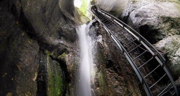 Traseu canionul șapte scări