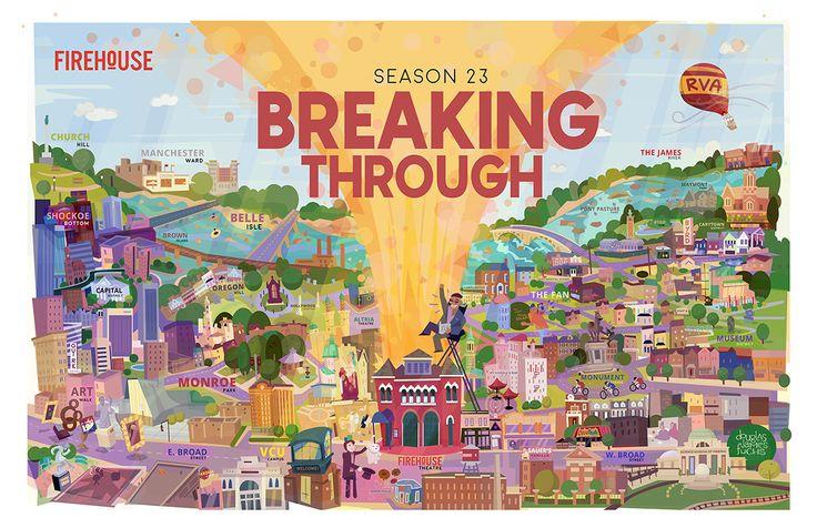 Firehouse Theatre Season 23 on Behance