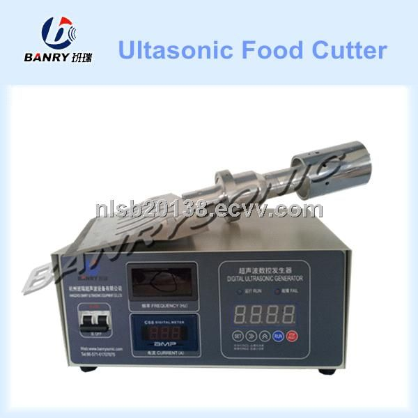 Ultrasonic meat butter filled cakes cutting machine ultrasonic cutter - China Ultrasonic butter filled cakes ultrasonic cutter, Banry