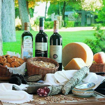 Taste of Italy Food Tour to Chianti and Umbria from Rome:    Head out of Rome and off the beaten track to experience a different side of Italy in Tuscany and Umbria. You'll visit the lovely towns of Cortona and Montepulciano, and sample wine, cheeses, salami, olive oil and other local specialties.