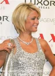 Paris Hilton hair @ Lisa Owens Sellars