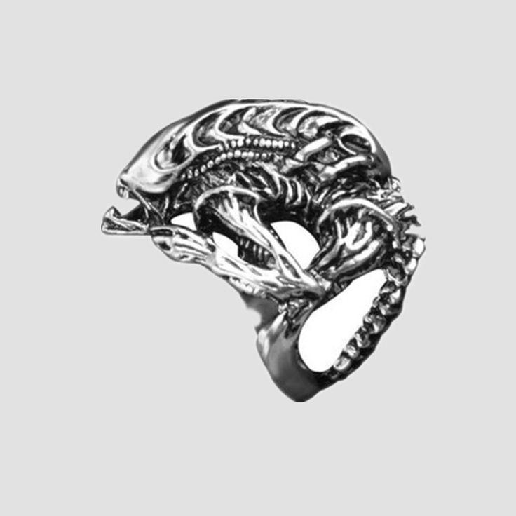 Европейский и америка поп панк готический в форме кольцо панк кольцо фильмы ювелирные изделия сразу купить на AliExpress