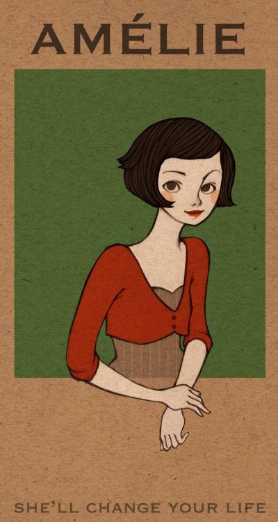 Amelie by rhuu.deviantart.com