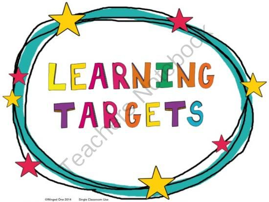 Image result for learning targets clipart