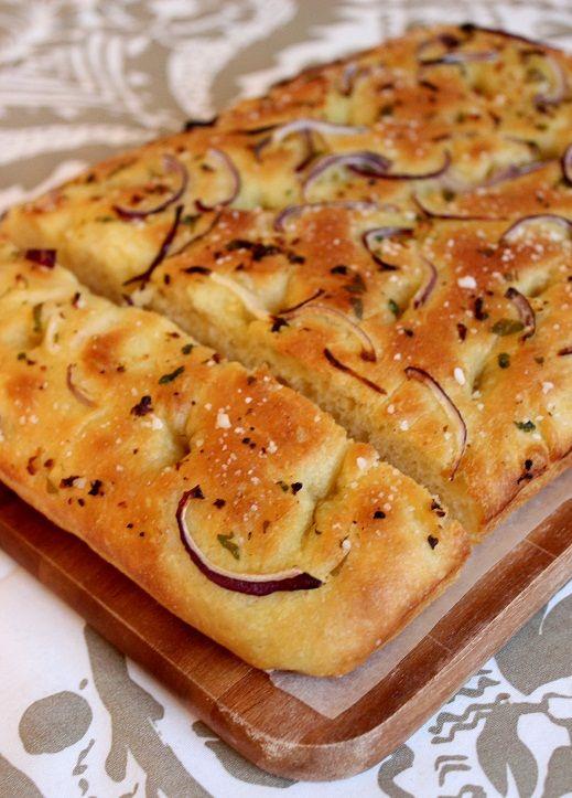 Focaccia leipä