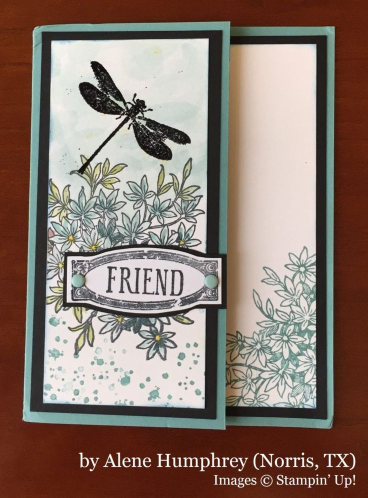 Alene Humphrey, Norris TX, Stampin' Up!, card swap