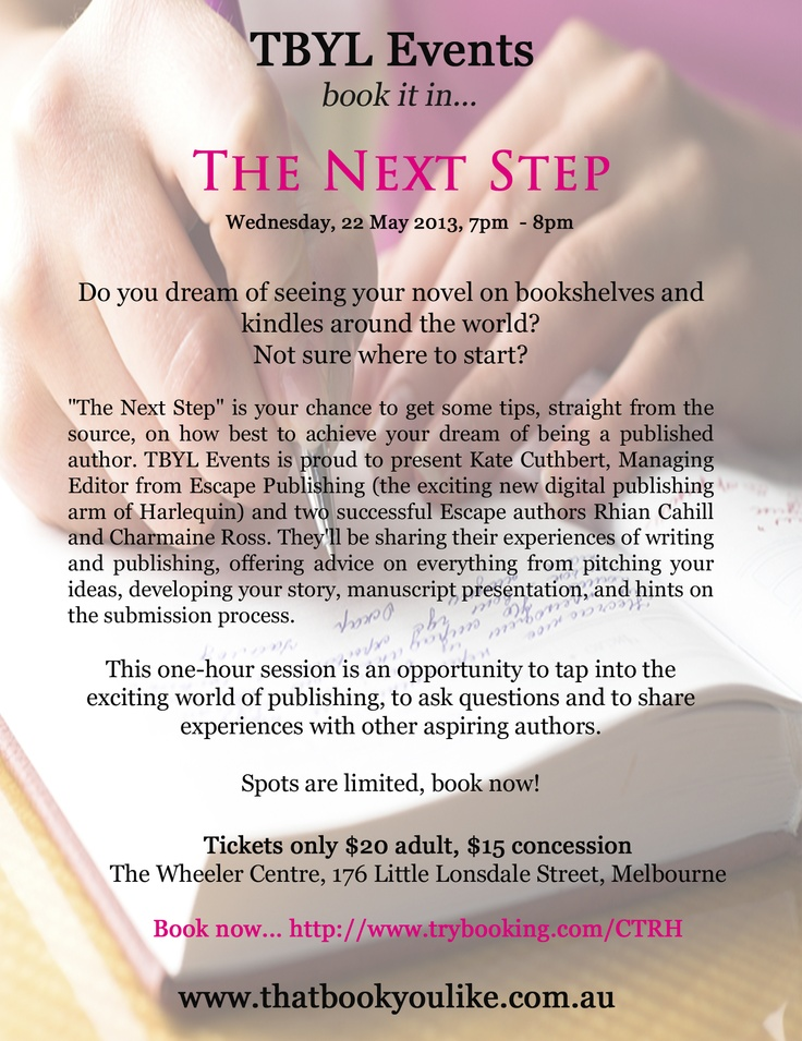"""""""The Next Step"""" May 2013"""
