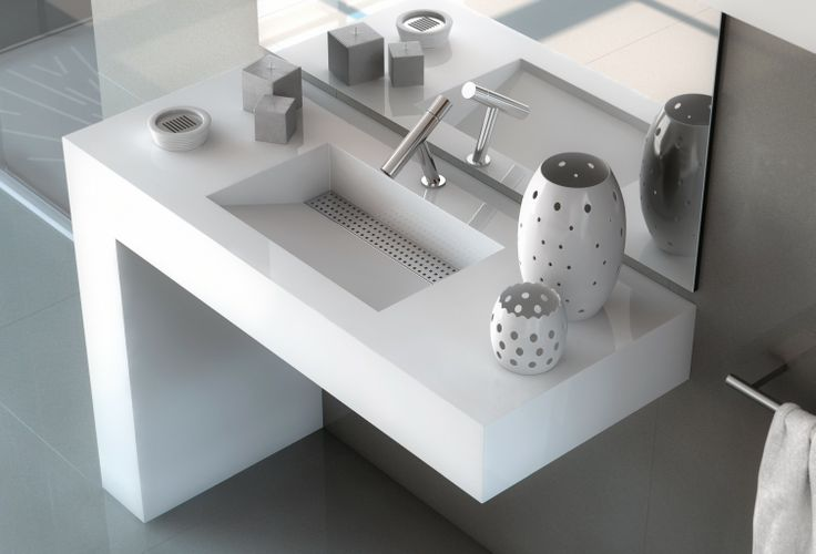 BATH Collection by Cosentino® http://www.silestone.es/productos/bath-collection/