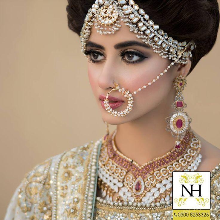 Bridal Photoshoot of Sajal Ali For Nadia Hussain