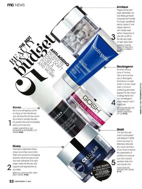May issue Marie Claire magazine - http://m.marieclaire.co.za/portal/3671