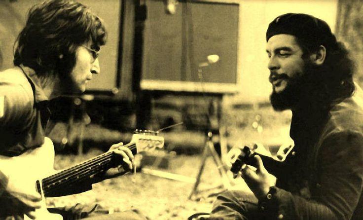 "John Lennon and Ernesto ""Che"" Guevara - Chicago, 1966"