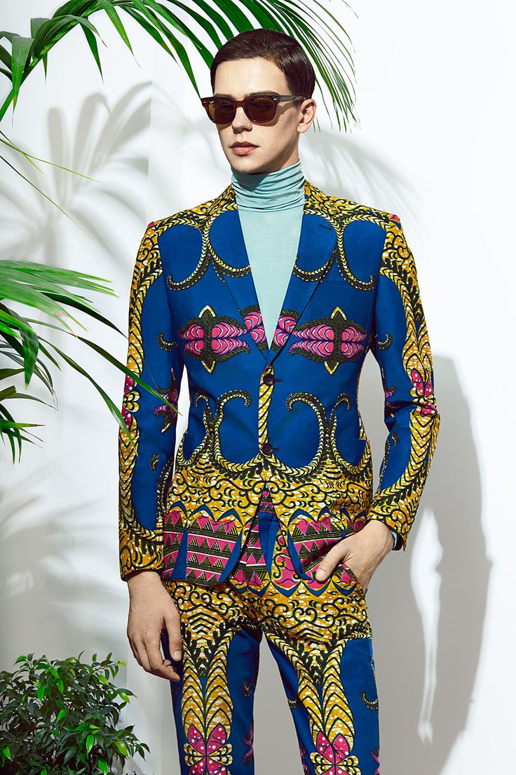 "Selvin @ M+P Models wears the Dent De Man ""Palais Royal"" Suit.  Photography: Adam Kaniowski  Styling: Ricardo Medina Grooming: KyungJu Claire Chung  Images courtesy of: http://www.phoenixmag.co.uk/fashion/return-to-the-wild/"