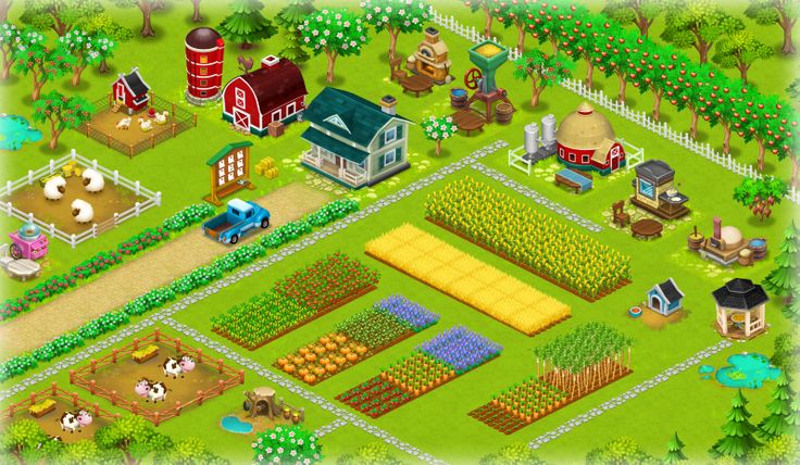 game hayday nong trai
