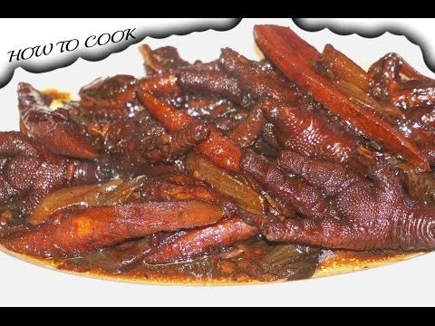 HOW TO MAKE JAMAICAN BROWN STEW CHICKEN FOOT RECIPE JAMAICAN ACCENT 2016 - http://2lazy4cook.com/how-to-make-jamaican-brown-stew-chicken-foot-recipe-jamaican-accent-2016/