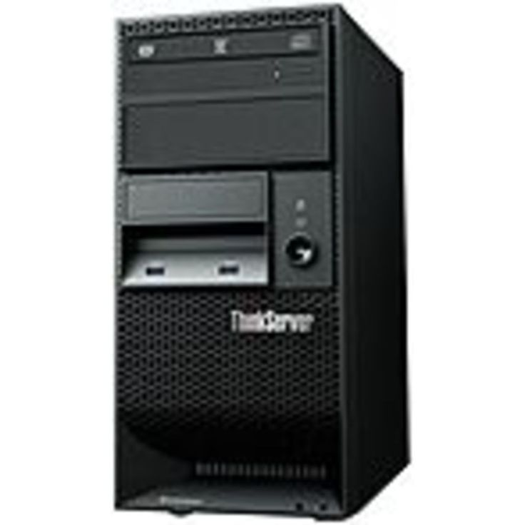 Lenovo ThinkServer TS150 70LV0032UX 4U Tower Server - 1 x Intel Xeon E3-1245 v5 Quad-core (4 Core) 3.50 GHz - 8 GB Installed DDR4 SDRAM - Serial ATA/600 Controller - 0, 1, 5, 10 RAID Levels - 1 x 250 W - 1 Processor Support - 64 GB RAM Support - Gigabit E