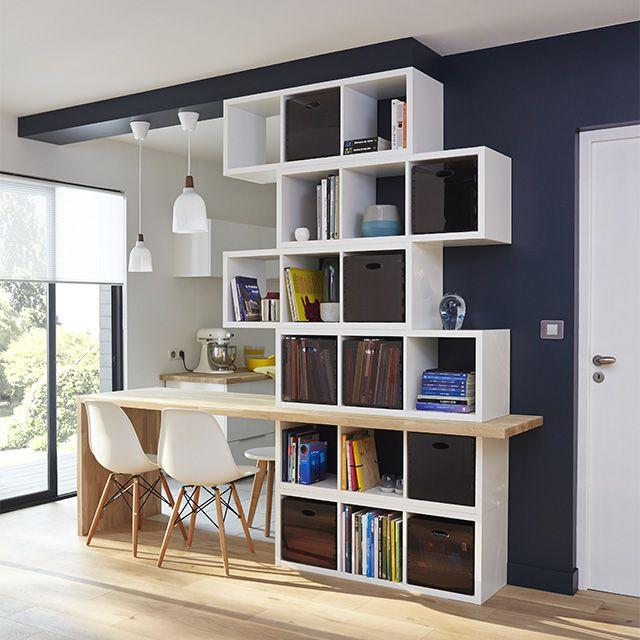 tagre modulable cases coloris blanc mixxit castorama with. Black Bedroom Furniture Sets. Home Design Ideas