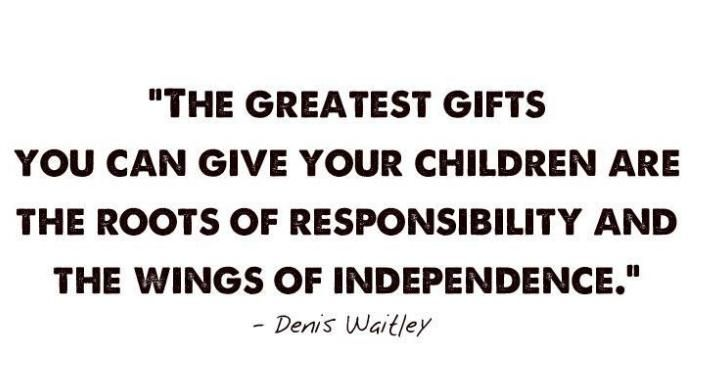 quotes about accountability   FundooPhotos - Children Responsibility Quote to Share   Best Quotes On ...