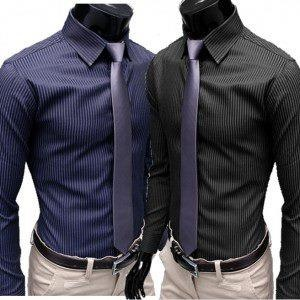 Sleek and affordable....: Fashion Style, Casual Shirts, Skinny Ties, Men Shirts, Dresses Shirts, Stripes Shirts, Men Fashion, Stylish Dresses, Slim Fit