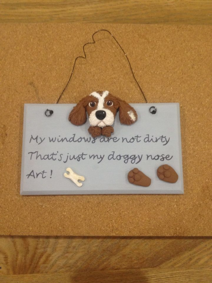 Doggy plaque