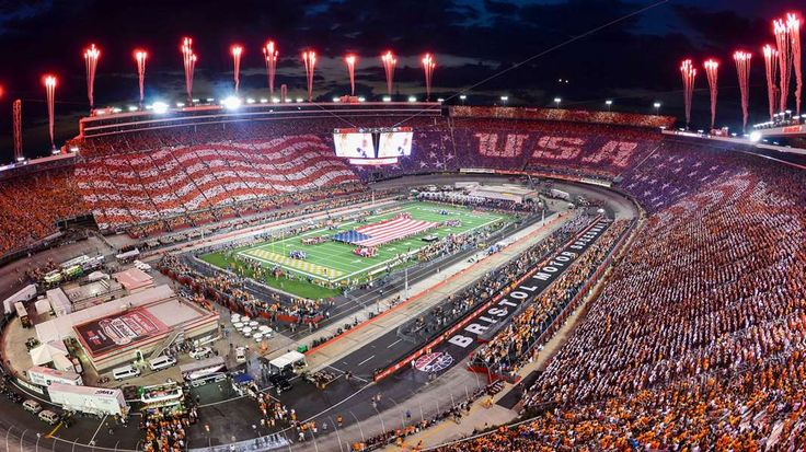 Must-see photos from the Battle at Bristol: Tennessee vs. Virginia Tech…