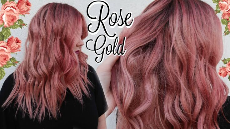 Rose Gold Hair Color formula - Best Safe Hair Color Check more at http://www.fitnursetaylor.com/rose-gold-hair-color-formula/