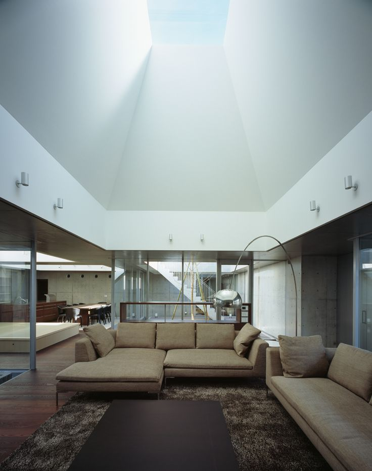163 best images about skylights in architecture on pinterest cases model homes and house - Skylight house plans natural light ...