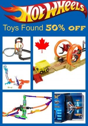 Page updated weekly! Find Brand name: Hot Wheels  Toys on sale for as much as half price (1/2) 50% off or more. Great Savings on your pocket books #hot #wheels #toys, Canada