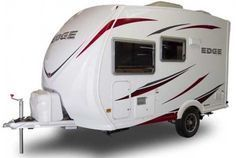 Ultra Lite Travel Trailers | Heartland Edge ultralite travel trailer exterior - shorter model #traveltrailers