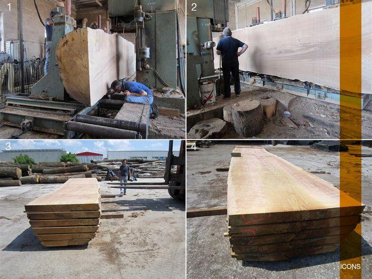 #oak #wood #cutting #great #tree #drying #legno #rovere #taglio #essiccatura #iconsfurniture