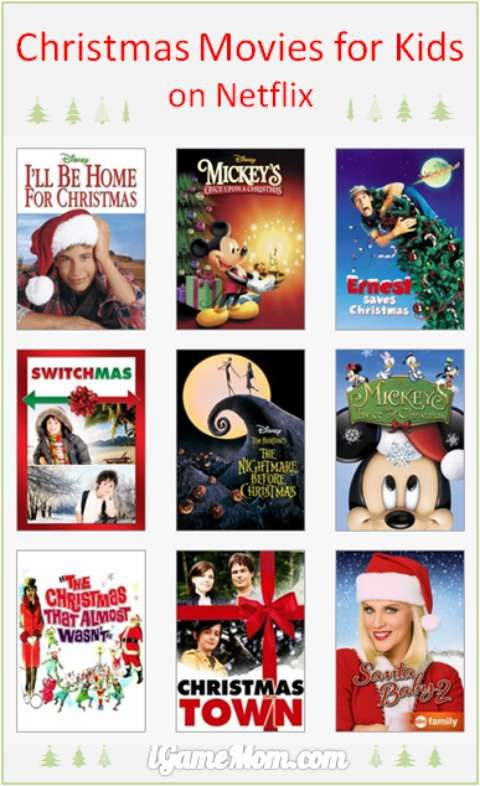Christmas movies for kids on Netflix -- wtih instant download (and you can have 1-month free trial for Netflix too) #moviesForKids