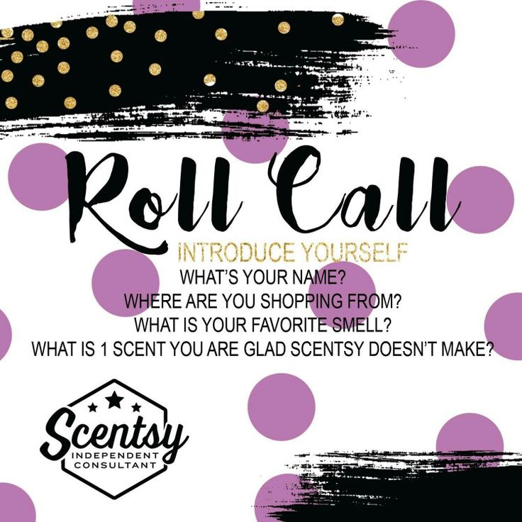 Who S Ping Scentsy With Me