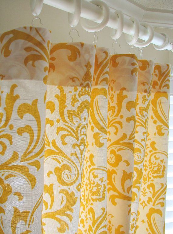 I need these! #yellow curtains @bakeat350tweets do you agree?