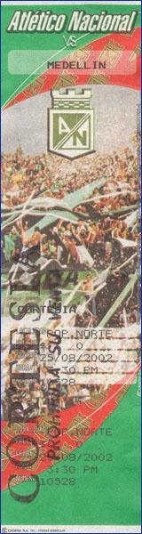 DIM vs Atlético Nacional