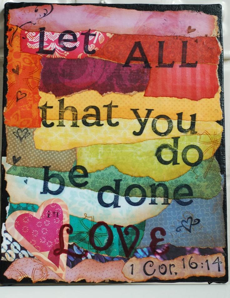 I Corinthians 16:14