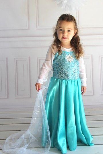 Elsa Princess Dress Toddler, Little Girls,  Big Girls -7977
