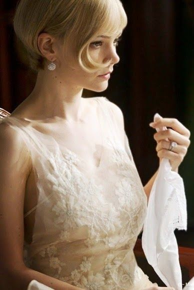 Carey Mulligan, as Daisy Buchanan - 2013 - The Great Gatsby - Costume design by Catherine Martin