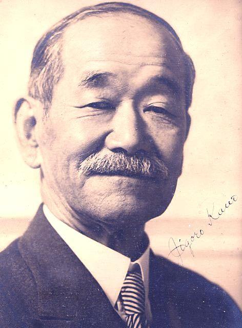 Praise this man, Jigoro Kano, for giving us JUDO!