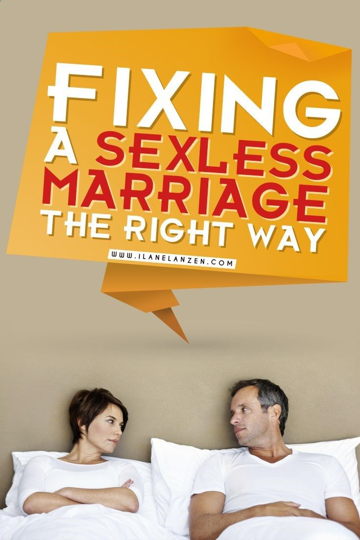 Dealing with lack of sex in marriage