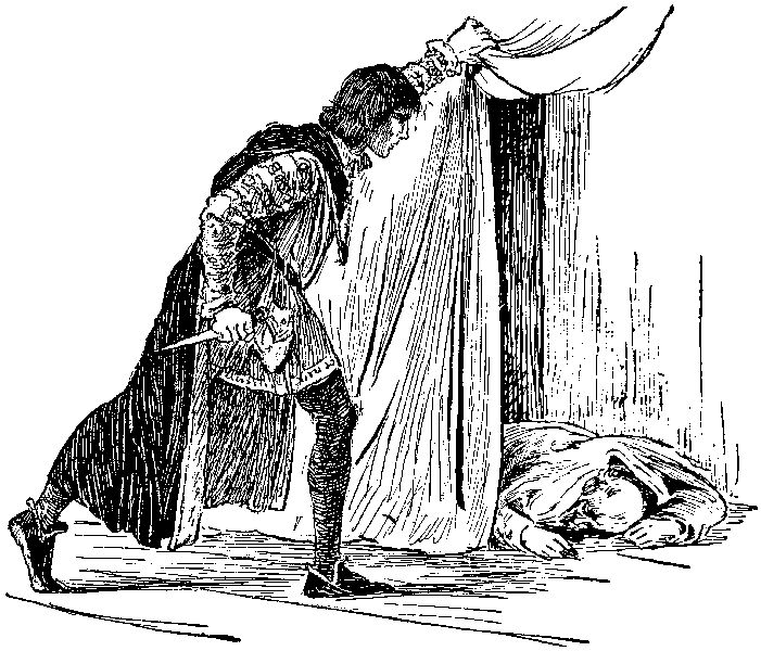 """""""How now, a rat? Dead for a ducat, dead.../ O,I am slain!"""" -Hamlet, Polonius, Act III Scene IV"""